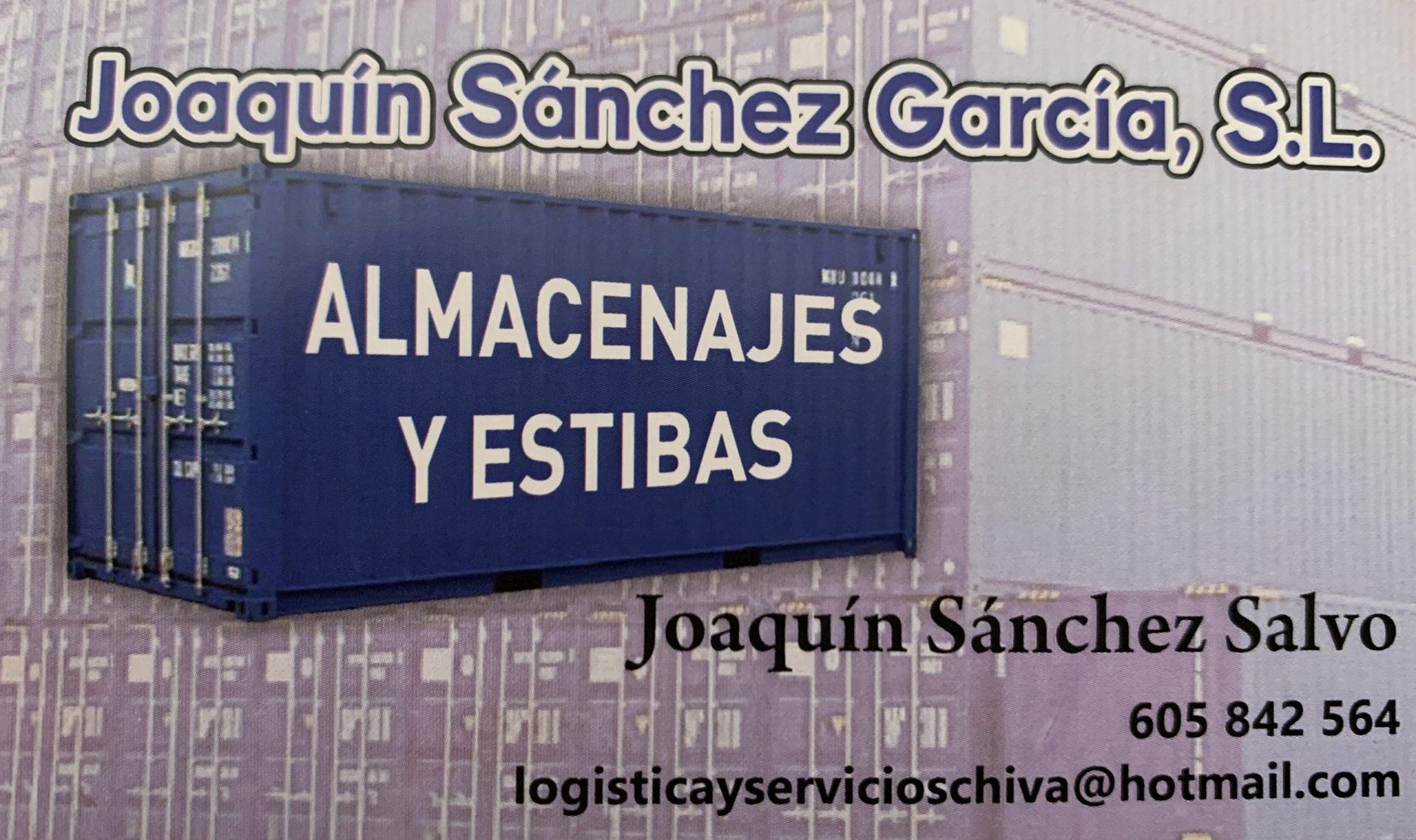 JOAQUÍN SÁNCHEZ GARCÍA, S.L.