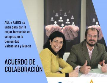 [:es]ADL y AERCE se unen para dar la mejor formación en COMPRAS en la Comunidad Valenciana y Murcia[:]