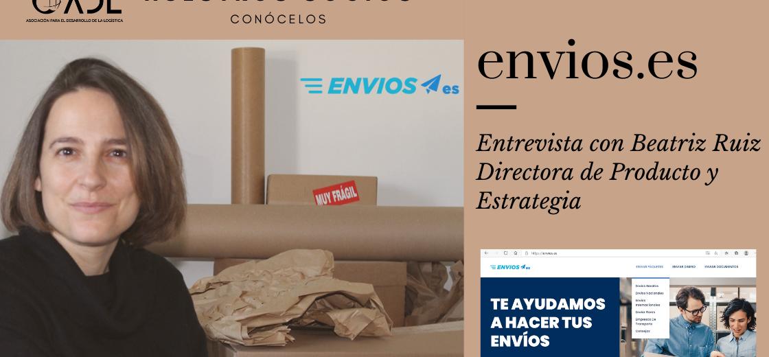 Beatriz Ruiz, Directora de Producto y Estrategia nos habla sobre envios.es