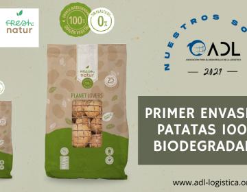Nuestro socio PATATAS LÁZARO sorprende al mercado con el primer envase de patatas 100% biodegradable