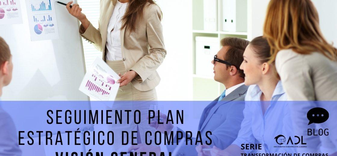 Seguimiento Plan estratégico de Compras: Visión General. (Art.11) Serie Transformación de Compras