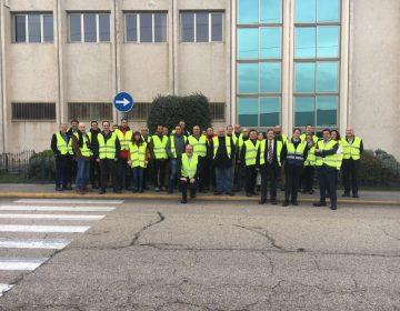 Nuestros asociados visitan el Centro Logístico de El Corte Inglés en Valdemoro (Madrid).[:]