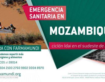 Farmamundi reparte kits de abrigo, higiene y alimentos a la población afectada por el ciclón Idai en Mozambique. Si quieres ayudar, ADL te facilita toda la información en este enlace[:]