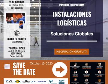 Más de 600 profesionales se han inscrito ya en el I Simposium de Instalaciones Logísticas que se celebra en Valencia y será retransmitido en directo