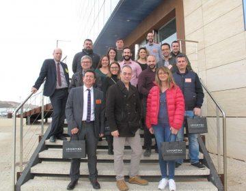 """Los socios de ADL visitamos la empresa LEVANTINA """"The Natural Stone Company""""[:en]Los socios[:]"""