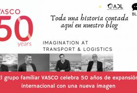 El grupo familiar VASCO celebra 50 años de expansión internacional con una nueva imagen