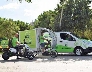 Movilidad eléctrica y compromiso social para el servicio de reparto urbano en Mallorca