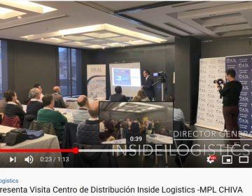Nuestro socio INSIDE Logistics nos presentaron su CASO DE ÉXITO Modelo de Externalización 4PL en la empresa MPL