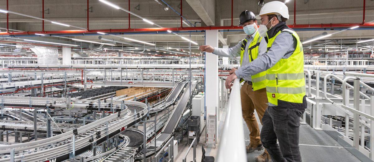 Nuestro socio TGW pone en marcha una de las mayores instalaciones logísticas del mundo para PUMA en Geiselwind (Baviera)