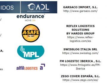 NUEVOS socios 📢 Bienvenidos a Endurance, A-Safe, MPL, Alfil Logistics, GSC, Hardis, Swisslog ..y muchos mas