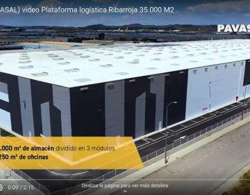 35.000 m2 de almacén logístico en Ribarroja. Valencia. Nuestro socio Elit. SL (Pavasal) nos invita a verlo y nos cuenta cómo han conseguido la certificación BREEAM