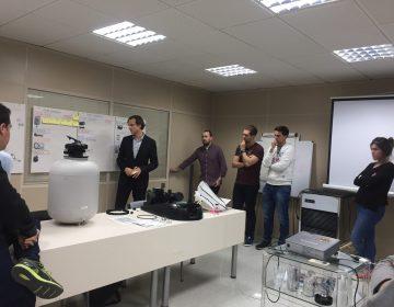 Nuestros alumnos del Máster Executive en Dirección de Operaciones, tuvieron una sesión práctica en la empresa ITV – Ice Makers con su profesor Benjamín Lorente[:]