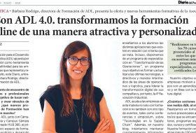 Nuestra Directora de Formación Bárbara Rodrigo entrevistada en Diario del Puerto