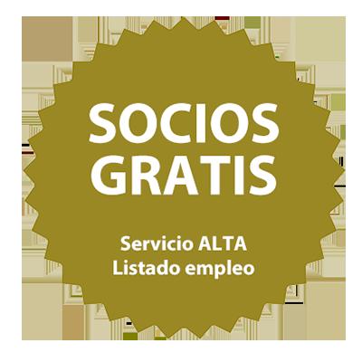 Socios Gratis - Servicio Alta Listado empleo