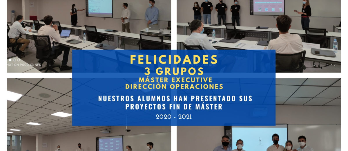 Proyectos para Ford, Gandia Blasco y Food Vac, empresas participantes en las defensas fin de master